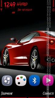 Скриншот темы Ferrari2 by Shawan