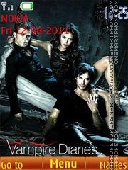 The Vampire Diaries theme screenshot