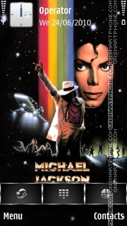 Michael Jackson Moonwalker theme screenshot