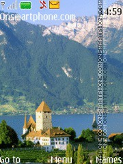 Swiss Alps 02 theme screenshot