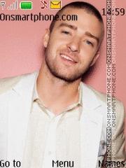 Скриншот темы Justin Timberlake 07