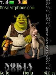 Capture d'écran Shrek 10 thème