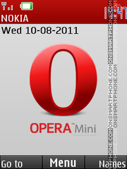 Opera Mini 02 Theme-Screenshot