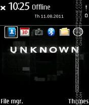 Unknown The Movie theme screenshot