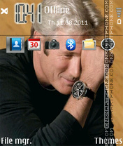 Richard Guir theme screenshot