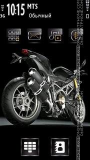 Ducati 1091 theme screenshot
