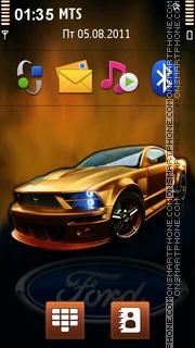 Скриншот темы Ford Mustang 89