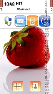 Strawberry 09 Theme-Screenshot