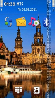 Germany - Dresden theme screenshot