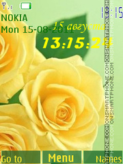 Yellow Rose theme screenshot