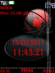 The Red Flash By ROMB39 theme screenshot