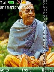 Srila Prabhupada theme screenshot