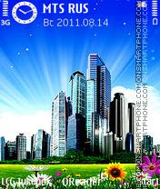 Light-City theme screenshot