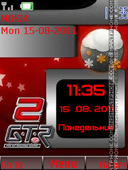 Red and gray tones By ROMB39 theme screenshot