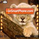 Lion 01 es el tema de pantalla