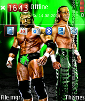 Wwe Dx theme screenshot