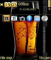 Beer 05 Theme-Screenshot