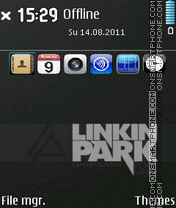 Lp Homescreen theme screenshot