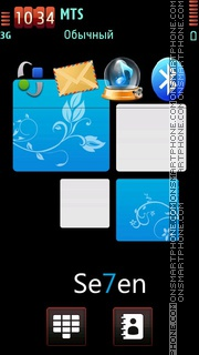 Windows7 11 tema screenshot