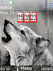 Wolf 10 theme screenshot