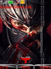 Ninja Gaiden 03 theme screenshot