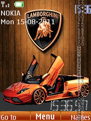 Lamborghini 11 theme screenshot