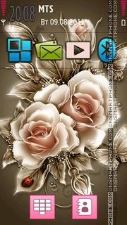 Flora Design tema screenshot