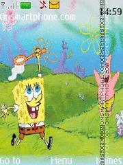 Скриншот темы Sponge pop