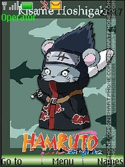 Hamruto Naruto by Mimiko theme screenshot