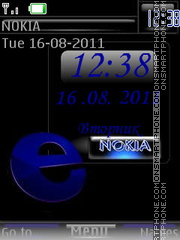 Email Blue By ROMB39 theme screenshot