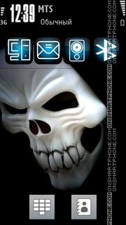 Skull Blue Icons Theme-Screenshot