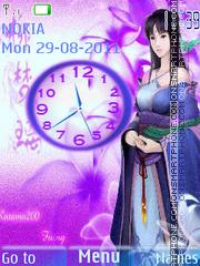 Скриншот темы Japan fantasy