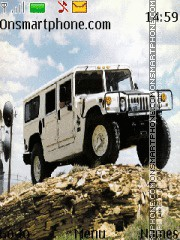 Hummer H 1 Vagon By Space 95 theme screenshot