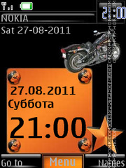 Harley Davidson W By ROMB39 theme screenshot