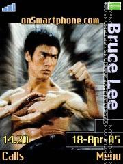 Bruce Lee tema screenshot