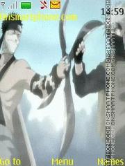 Kakashi vs Zabuza theme screenshot