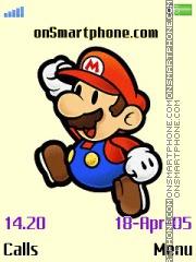 Mario es el tema de pantalla
