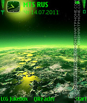 Anywhere tema screenshot