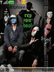 Hollywood Undead tema screenshot