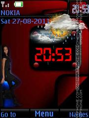 Ladies Wall 2 By ROMB39 tema screenshot
