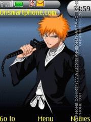 Ichigo Bankai theme screenshot