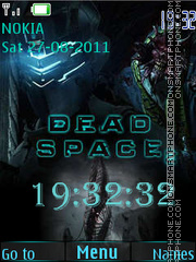 Dead Space 2 theme screenshot