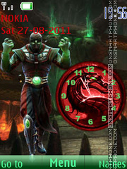 Ermac theme screenshot