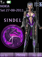 Sindel theme screenshot