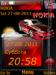 Auto Red SVV By ROMB39 tema screenshot