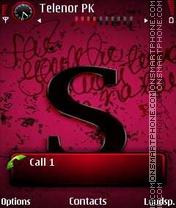 Capture d'écran Letter S thème