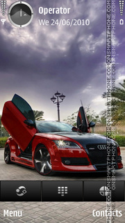 Audi tt sport theme screenshot