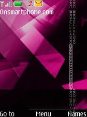 Shards Pink theme screenshot