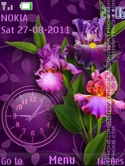 Скриншот темы Irises