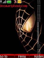 Скриншот темы Spider man